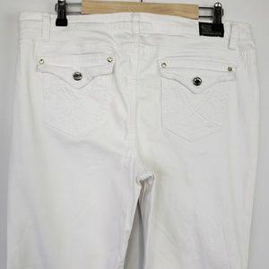 Earl Jean's Bootcut Stretch Flap Pocket Jeans
